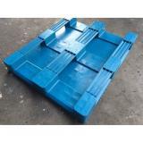 1200*800 Hygienic Food Grade Plastic Pallet for Pharmaceutical Industry