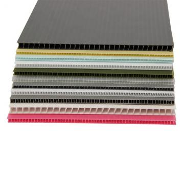 Anti-static eco-friendly durable coroplast polypropylene corrugated plastic sheet pp hollow board