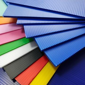 Lightweight PP Hollow Sheet Polypropylene Plastic Hollow Board High Strength