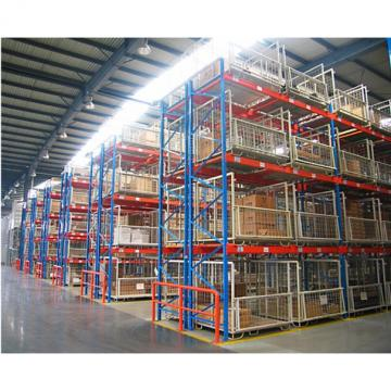 Heavy duty storage textiles fabrics warehouse foldable stackable metal textile pallet