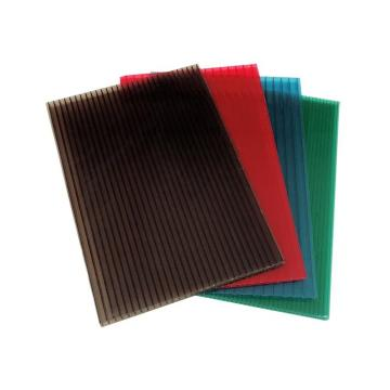 Quanfu 4mm Colorful Polycarbonate Twinwall PC Hollow Sheet for Sales