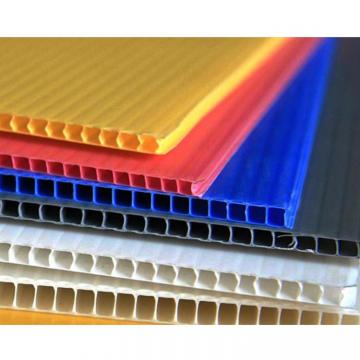 Hollow full pp plastic formwork board for construction