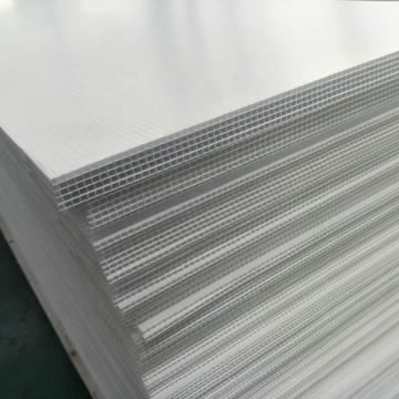 Outdoor Yard PP Sheet 2-8mm Plastic Ribbed Hollow Corrugated Sign Sheet