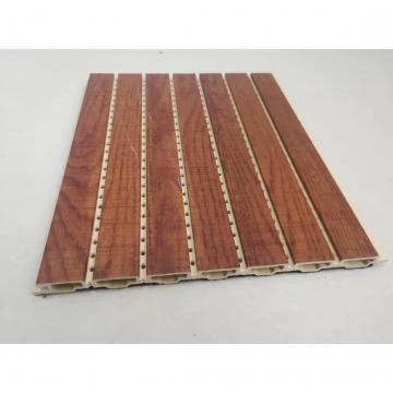 U-Groove Laminated PVC Panel False Ceiling for Home Decoration Wall Cladding Panel DC-1204