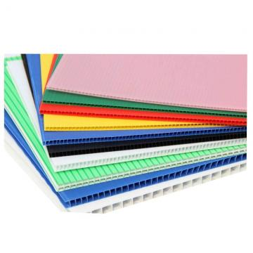 PP Material and 2mm, 3mm, 4mm, 5mm, 6mm, 8mm, 9mm, 10mm, 11mm, 12mm Thickness Fluted Plastic Sheet