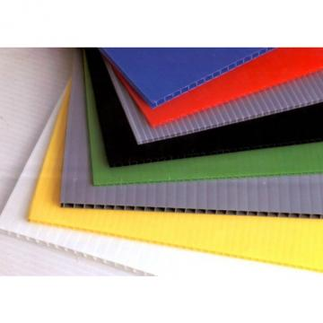 Colorful Hollow PP Sheet Corrugated Plastic Polycarbonate Sheet