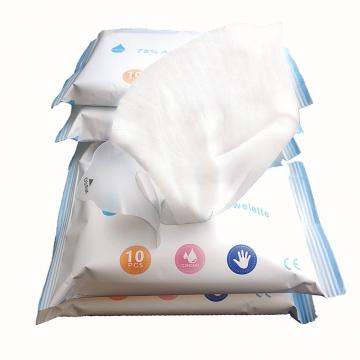 Wholesale Custom Disposable Sanitizer Cleaning Wipes Antibacterial Disinfectant 75% Alcohol Wet Wipes