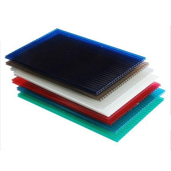 Customize Polypropylene Hollow Sheet Wantong Board Anti-Static Eco-Friendly Durable Corrugated Sheet PP Hollow Board #1 image