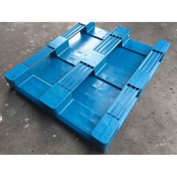 Pharmaceuticals Industry Used Virgin HDPE 4 Way Racking Plastic Pallet #2 image