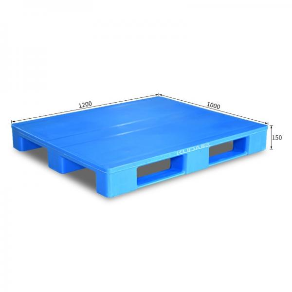 Pharmaceuticals Industry Used Virgin HDPE 4 Way Racking Plastic Pallet #3 image