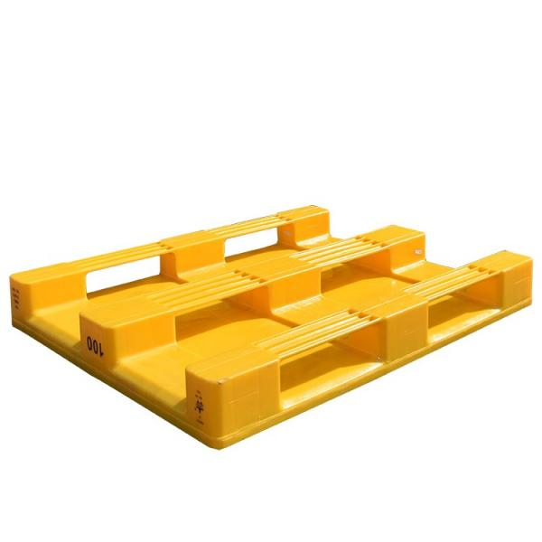 1200*800 Hygienic Food Grade Plastic Pallet for Pharmaceutical Industry #3 image
