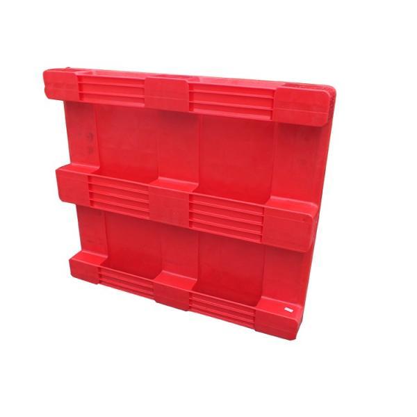 "48""X40"" Pharmaceutical Industry heavy duty flat racking plastic pallet #3 image"