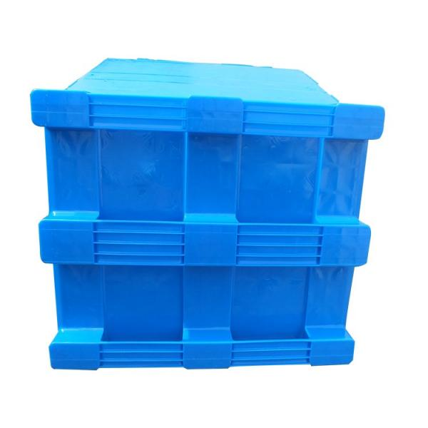 Pharmaceuticals Industry Used Virgin HDPE 4 Way Racking Plastic Pallet #1 image