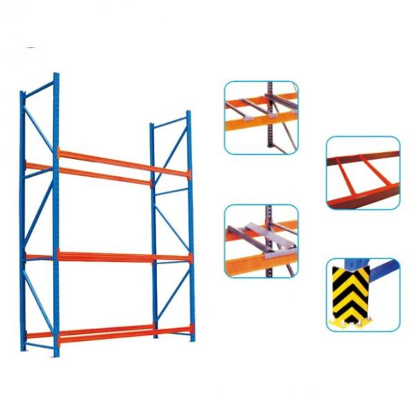 Double Faced Flat Skid Euro Tray Plastic Pallet for Textile #1 image