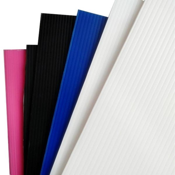 Colorful PP Hollow Corrugatedt Plastic Board for Packaging #1 image