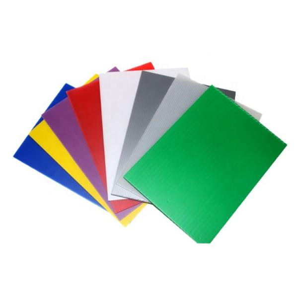 Cheap Plastic PP Sheet Corrugated Hollow Board Recycled Plastic Sheet for Garden #3 image