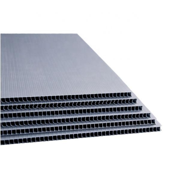 PP Hollow Sheets / PP Corrugated Plastic Board with Corona Treament for UV Printing #3 image