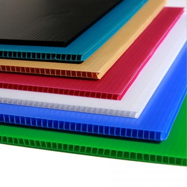 Best price 4mm white PP hollow board,corrugated plastic #1 image
