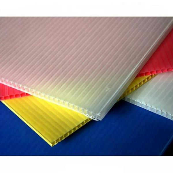 Factory 2-12mm Custom White/Yellow/Blue/Black Corflute PP Hollow Board/Corrugated Plastic Sheet #1 image