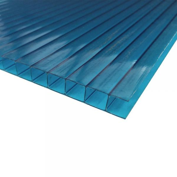 Quanfu 4mm Colorful Polycarbonate Twinwall PC Hollow Sheet for Sales #3 image