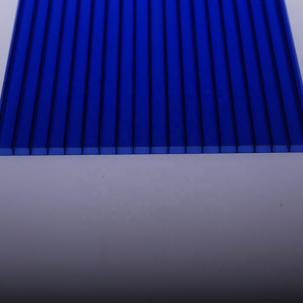 Outdoor Yard PP Sheet 2-8mm Plastic Ribbed Hollow Corrugated Sign Sheet #2 image