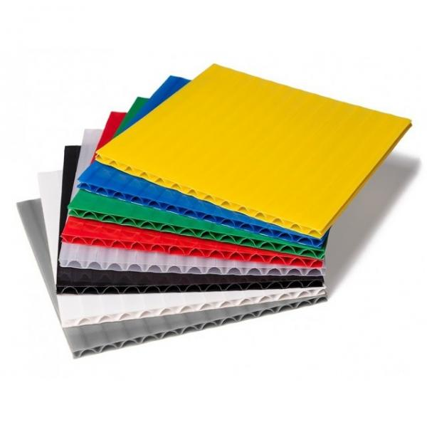 excellent Strength white pp hollow Plastic Sheets/pvc board manufacturer #1 image