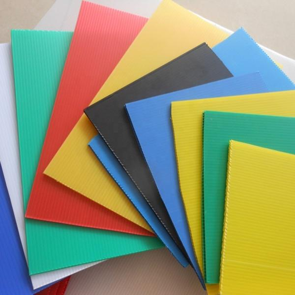 Protection Polypropylene PP Hollow Corrugated Plastic Sheets Factory Supplier #1 image