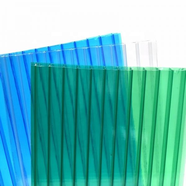Free Sample Quanfu Polycarbonate Twinwall Hollow PC Sheets for Greenhouse #1 image
