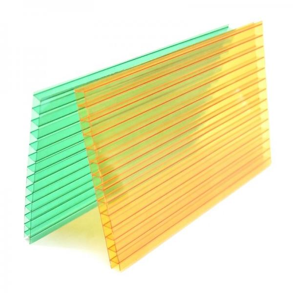 UV Protection Polycarbonate Hollow Sheet PC Sun Sheet for Carports #3 image