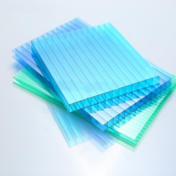 PC Plastic Cheap Twinwall Polycarbonate Hollow Sheet #1 image
