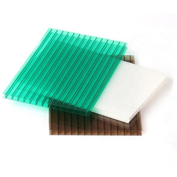 Polycarbonate PC Hollow Rain Shelter Sheet Price #1 image