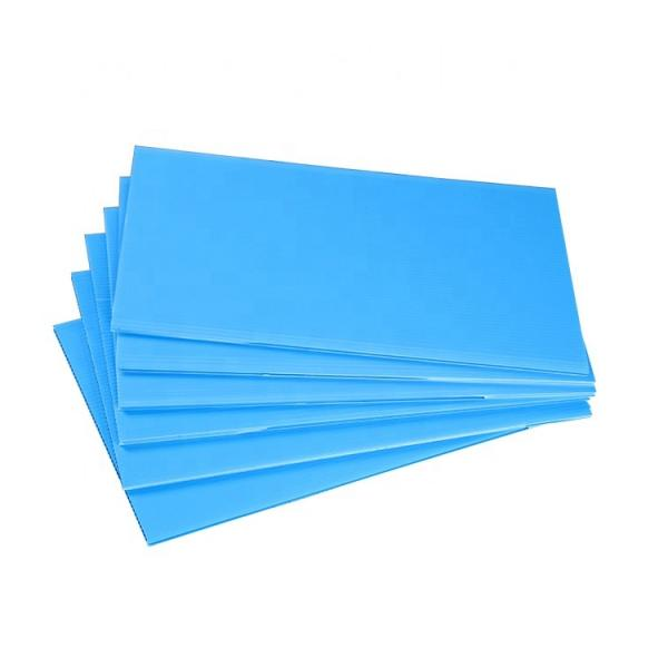 8'*4' Construction and Building Plastic Protection Board/Colored PP Hollow Sheet #3 image