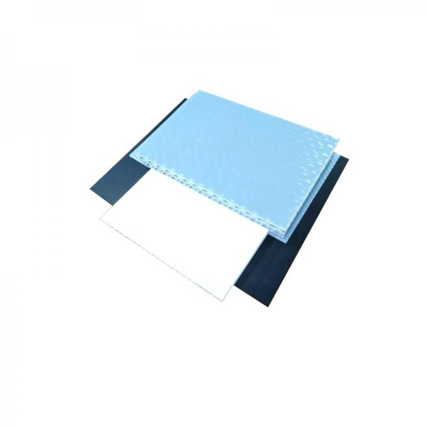 8'*4' Construction and Building Plastic Protection Board/Colored PP Hollow Sheet #2 image