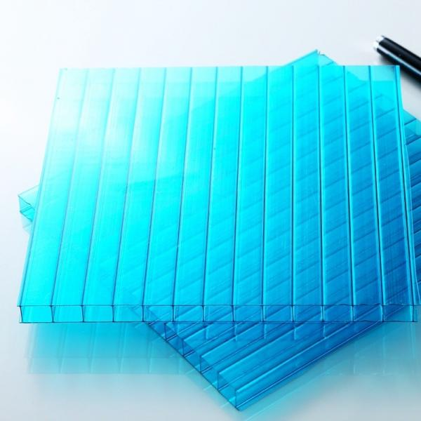 UV Protective No Yellowing Hollow Polycarbonate Sheet #3 image