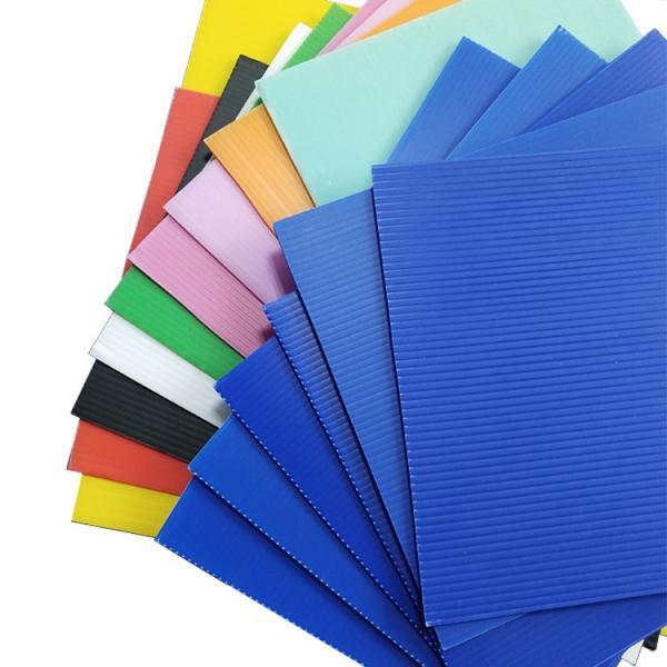 Colorful Hollow Sheet Plastic Sheets Board #1 image