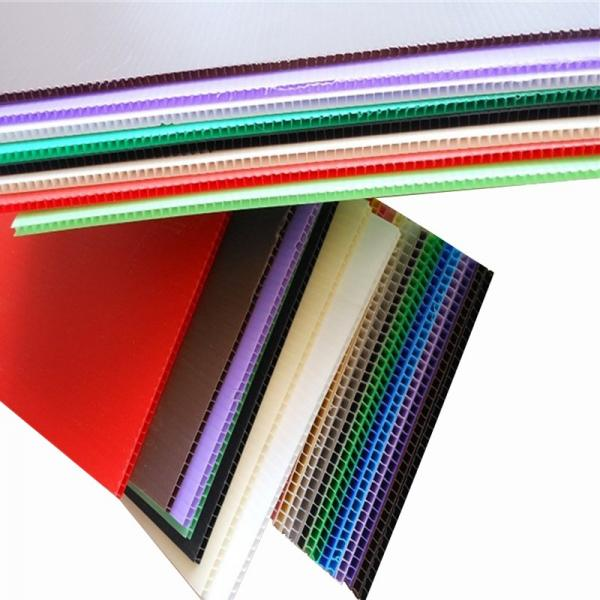 Advertising Printed Board PP Corrugated Flute Sheet Twin Wall Polypropylene Sheet #2 image