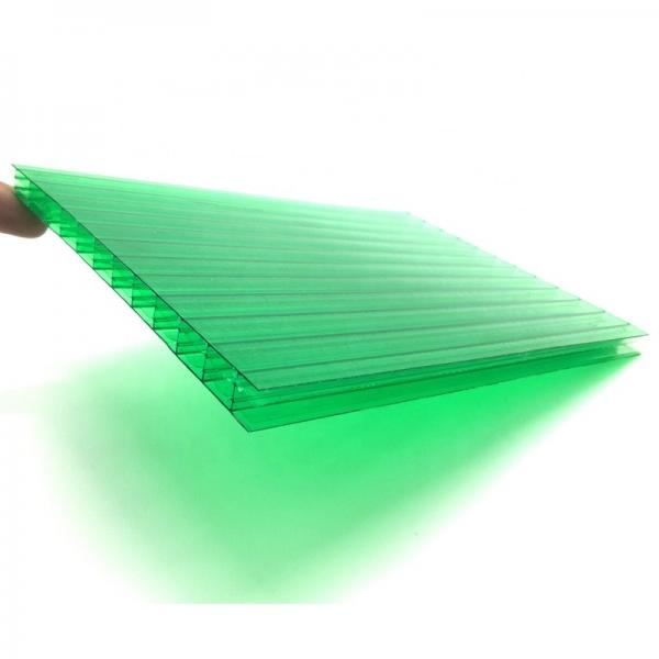 Double Good Price Corrugated Roofing Sheet Polycarbonate Hollow Sheet #3 image