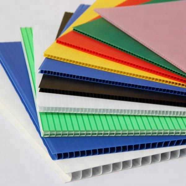 4mm PP Hollow Sheet/Corflute Sheet/Corrugated Plastic #1 image