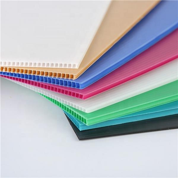 Factory Wholesale Price Plastic Packaging Box PP Corrugated Hollow Board Sheet #2 image