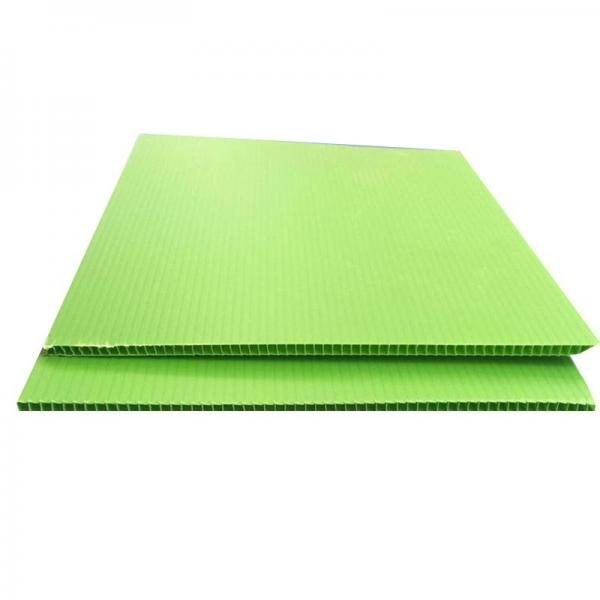 Environmentally Friendly PP Plastic Hollow Sheet/Board for SGS RoHS #1 image