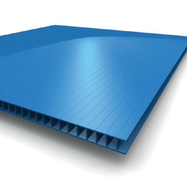 Advertising Printed Board PP Corrugated Flute Sheet Twin Wall Polypropylene Sheet #1 image