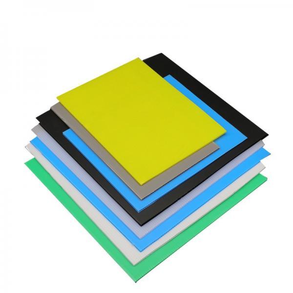 Advertising Printed Board PP Corrugated Flute Sheet Twin Wall Polypropylene Sheet #3 image