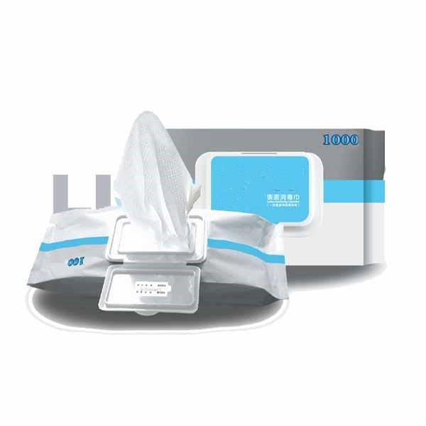 single pack customized design 70 isopropyl alcohol wipes #1 image