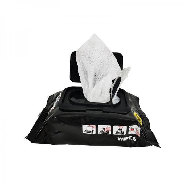 single pack customized design 70 isopropyl alcohol wipes #4 image