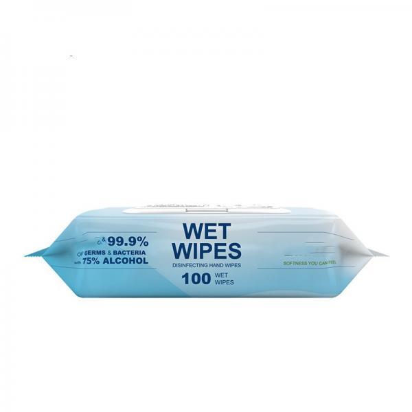 Custom 99% 75% Isopropyl Alcohol Pad Clean Wet Wipe #2 image