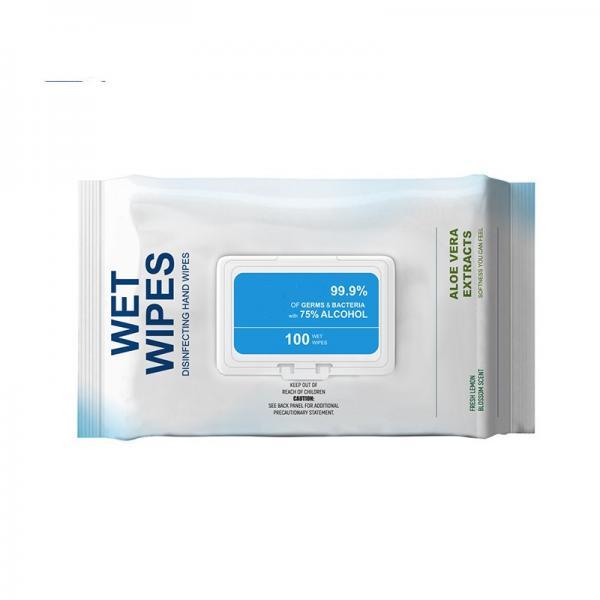 Custom 99% 75% Isopropyl Alcohol Pad Clean Wet Wipe #3 image
